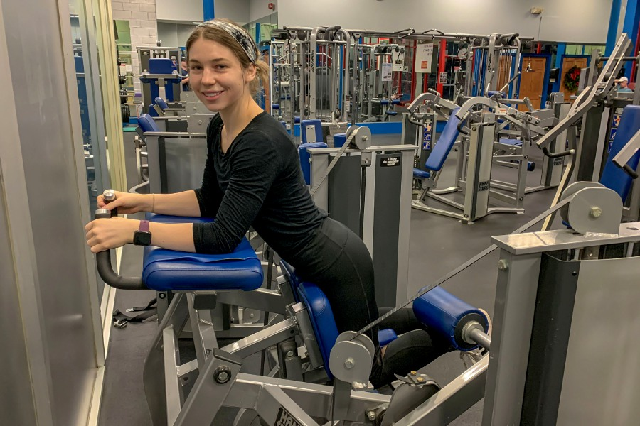 Certified personal trainer Kristen Dearborn recommends single-leg machines to help correct muscle imbalances.