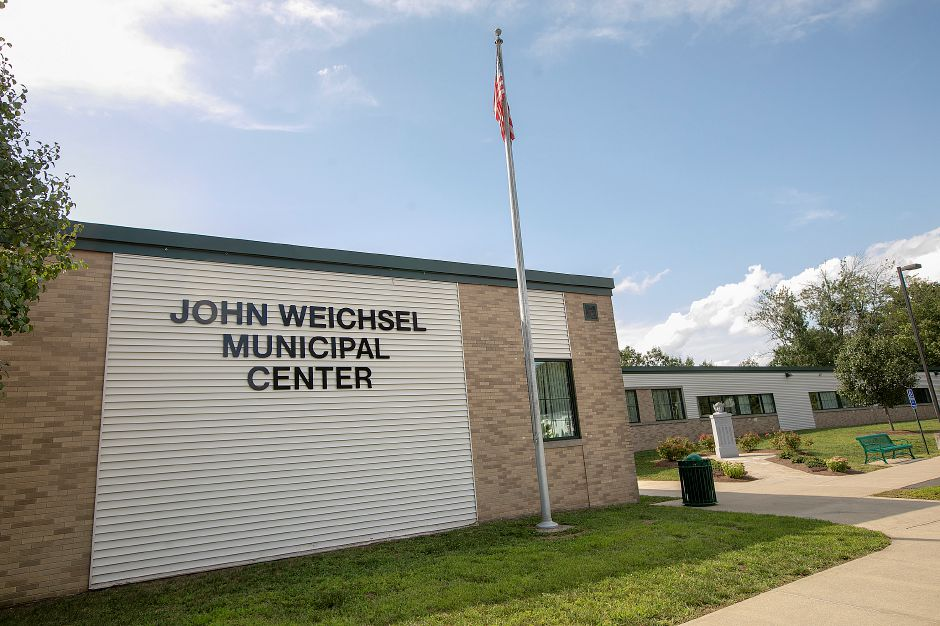 John Weichsel Municipal Center in Southington, Thurs., Aug. 22, 2019. Dave Zajac, Record-Journal