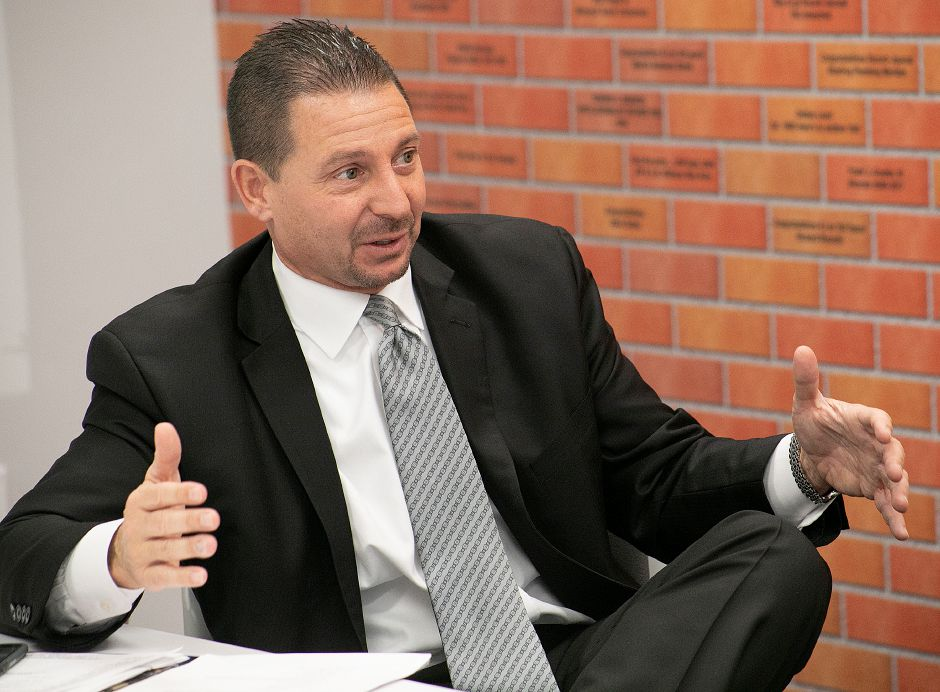 Meriden Superintendent Mark Benigni said the latest scores on the state's Next Generation Accountability Index show where the district is making gains and where improvement is needed. Meriden has shown incremental improvement in its overall score. | File photo, Dave Zajac, Record-Journal