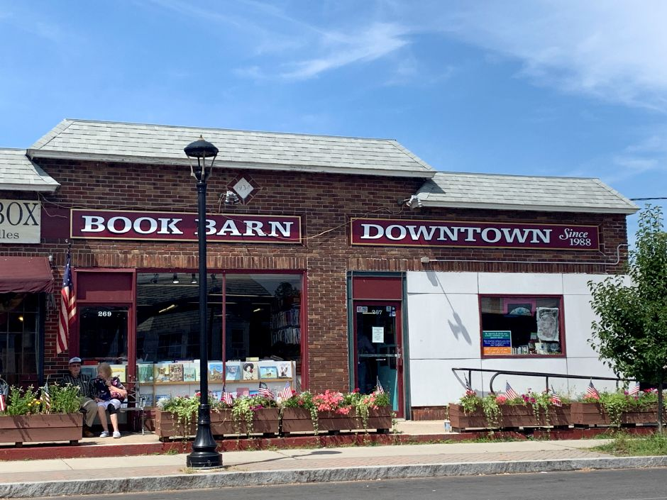 The Book Barn Downtown in Niantic on Monday, August 5, 2019. | Bailey Wright, Record-Journal