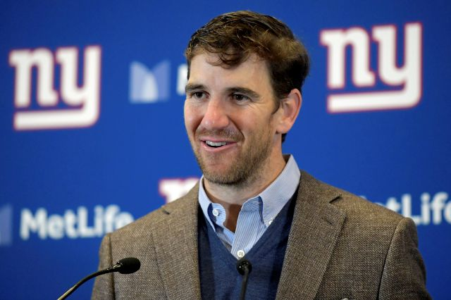 While the 35th annual Franciscan Sports Banquet and Silent Auction has been postponed to June 1, 2021 due to the coronavirus, former New York Giants quarterback Eli Manning remains the guest of honor as the St. Francis Award winner. Bill Kostroun, Associated Press