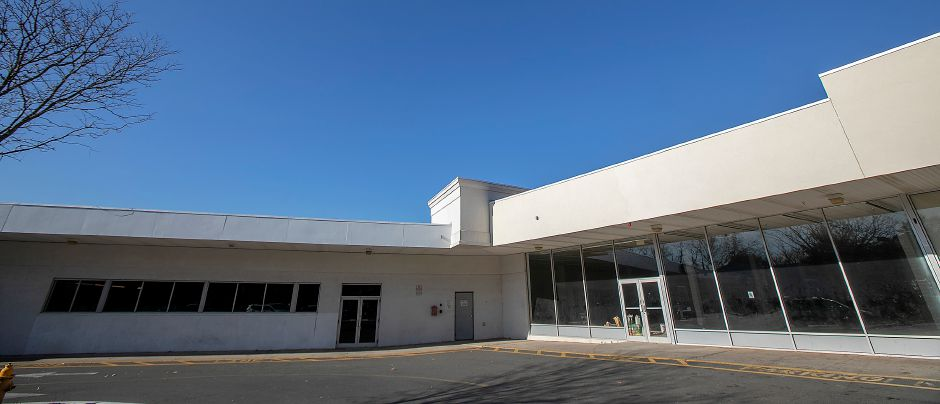 Vacant storefronts that will occupy U-Haul self-storage units at Lincoln Plaza, 311 W. Main St, Meriden, Fri., Nov. 15, 2019. U-Haul opened a 5,000 square-foot retail and rental store in Lincoln Plaza and will add 200 self-storage units in empty store fronts in the rear. Dave Zajac, Record-Journal