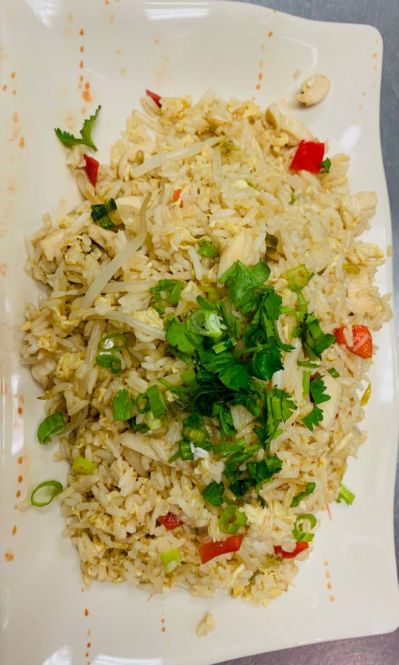 Chicken fried rice. | Photo Courtesy Hot Pot of Wallingford