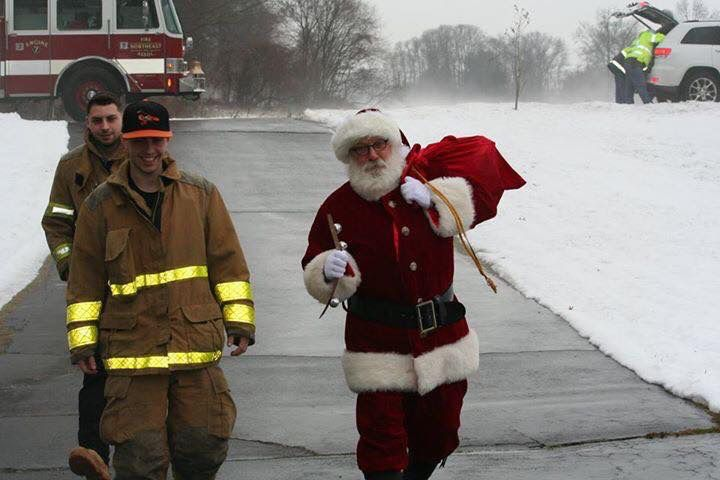 The Northeast Volunteer Fire Association is preparing to help Santa deliver presents across North Haven this weekend. This annual tradition, which goes back 20 years, is the association
