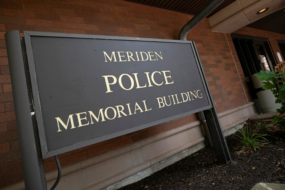 The Meriden Police Dept. on West Main Street, Mon., Aug. 31, 2020. Dave Zajac, Record-Journal
