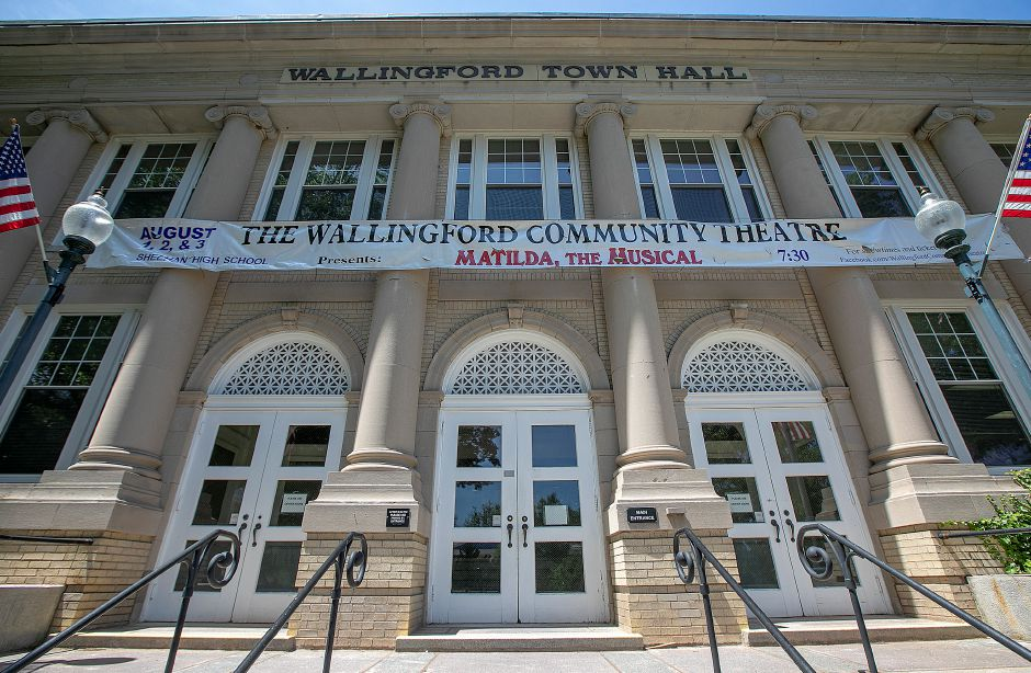 Wallingford Town Hall, Mon. July 15, 2019. Dave Zajac, Record-Journal