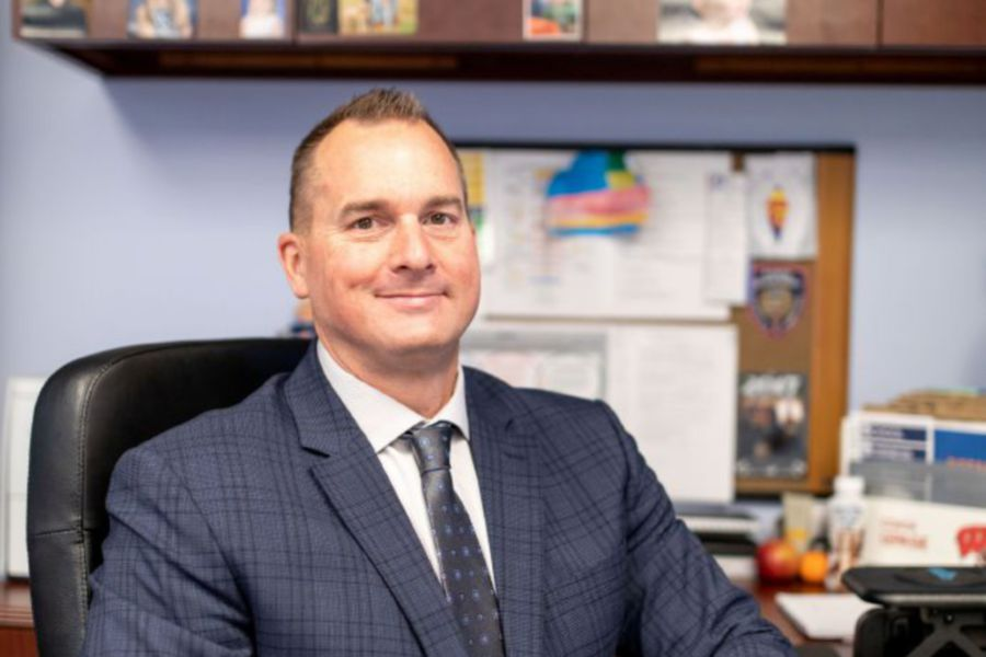Plainville Superintendent of Schools Steven LePage. | Devin Leith-Yessian/Plainville Citizen