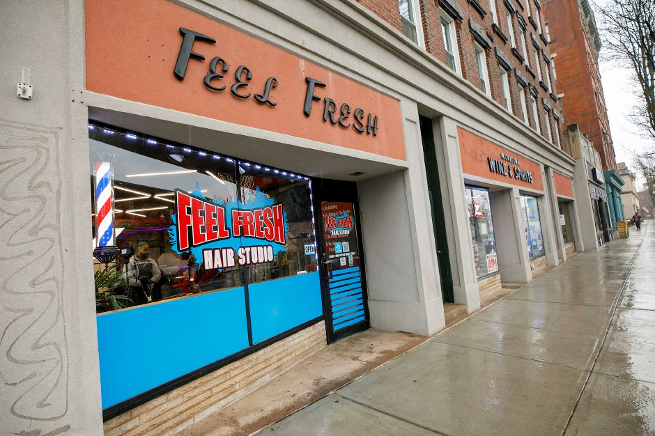 Feel Fresh Hair Studio at 65 W. Main St., Meriden. Dave Zajac, Record-Journal