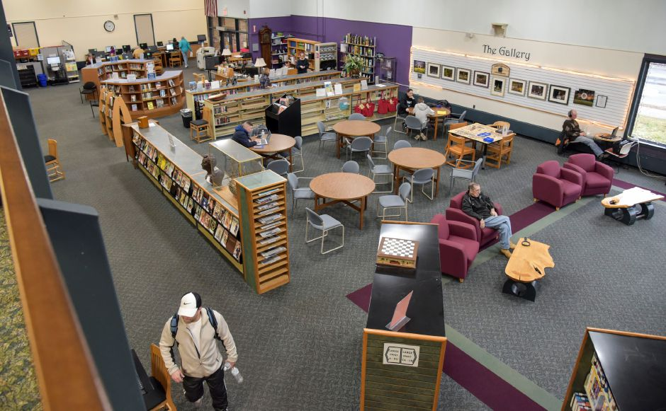 The Southington Public Library, 255 Main St., on Monday, Dec. 30, 2019. The town is looking to build a new, larger library to accomodate growing needs. | Bailey Wright, Record-Journal