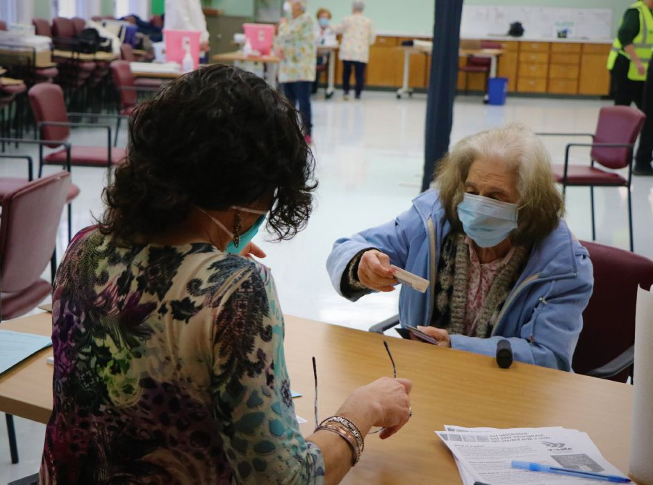 Fifty Berlin residents received Moderna COVID-19 Vaccine during the Berlin Senior Center's first COVID-19 vaccination clinic on Tuesday, Feb. 16, 2021. | Nadya Korytnikova, Record-Journal