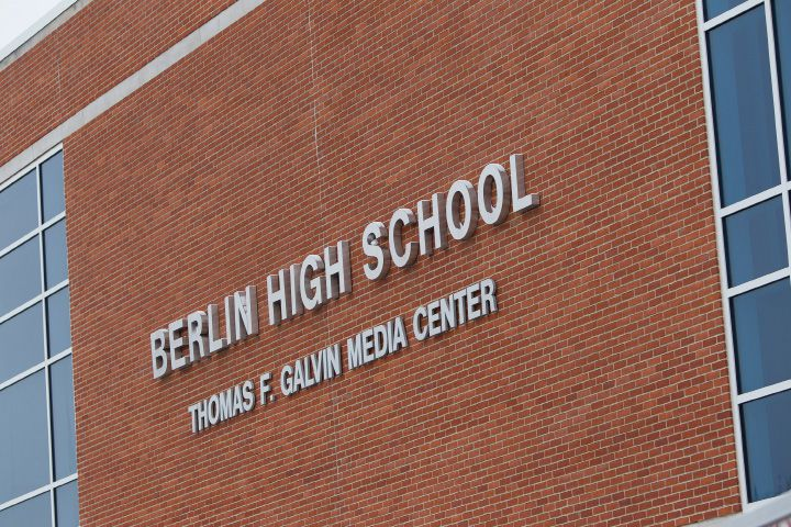FILE PHOTO: Berlin High School on Feb. 11, 2017 | Justin Weekes / For the Record-Journal