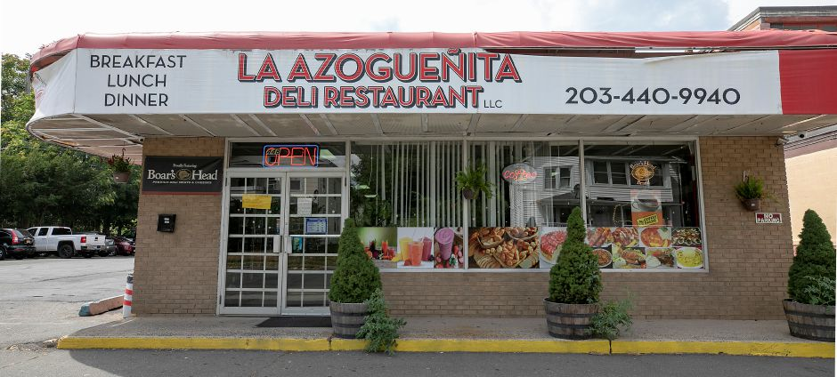 La Azogueñita Deli & Restaurant, 448 Center St., Meriden, Fri., Aug. 14, 2020. The business is opening a second location at 211 S. Colony Rd. in Wallingford on August 23. Dave Zajac, Record-Journal