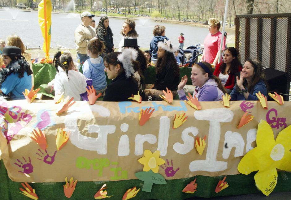 Girls Inc. float Sat., April 24.