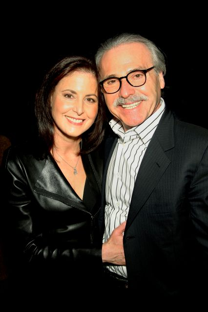 In this Jan. 31, 2014 photo, David Pecker, Chairman and CEO of American Media, poses with his wife, Karen Pecker, at the Shape & Men