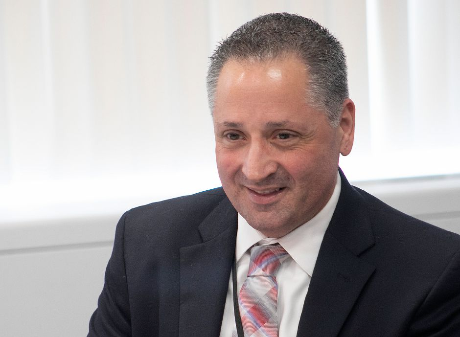 Salvatore Menzo, superintendent Wallingford public schools, Mar. 15, 2019. File photo. Dave Zajac, Record-Journal