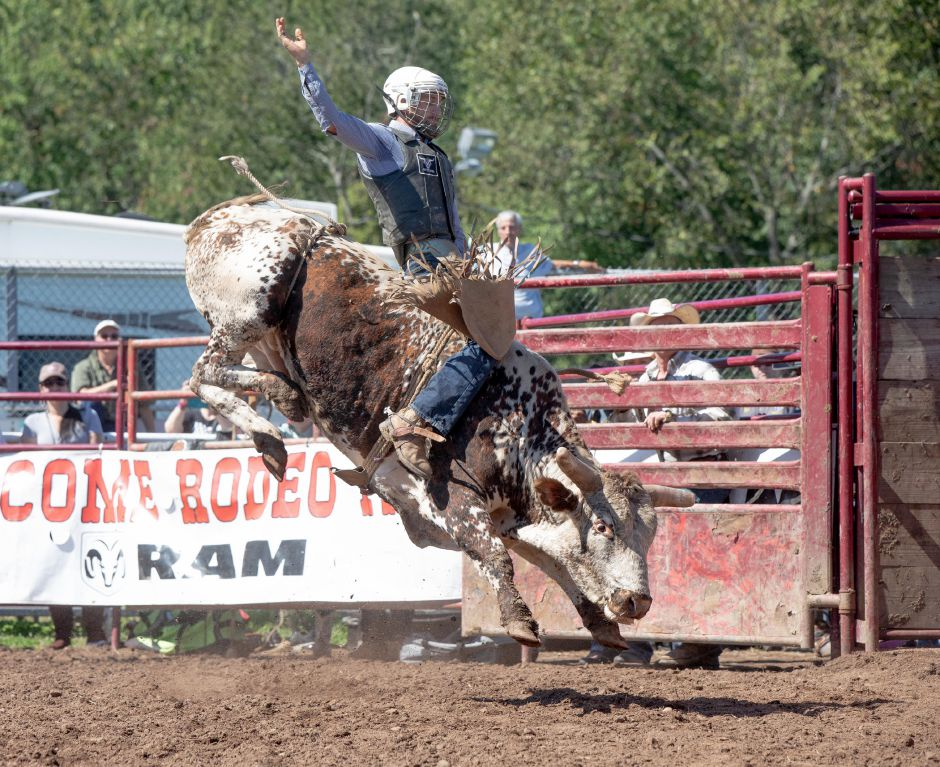 The Painted Pony Rodeo attracted big crowds all three days of the Berlin Fair, which ran from Sept 13 - 15, 2019. | Devin Leith-Yessian/Record-Journal