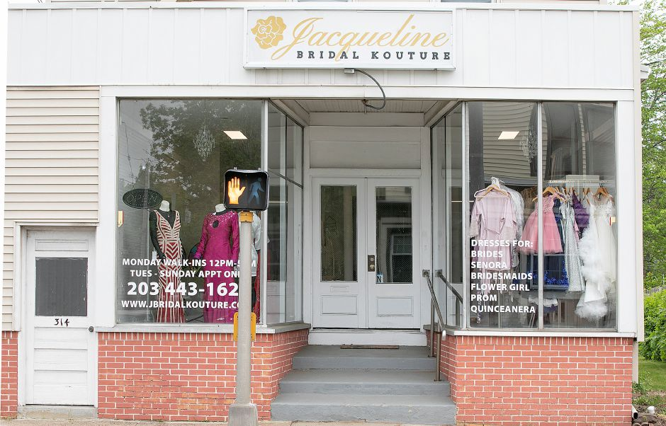 Jacqueline Bridal Kouture, a new business at 314 N. Colony St., Wallingford, Thurs., May 23, 2019. Dave Zajac, Record-Journal