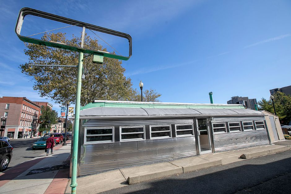 The Landmark diner at 82 W. Main St., Meriden, Tues., Oct. 15, 2019. Dave Zajac, Record-Journal