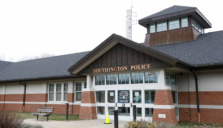 The Southington Police Department, Wed., Jan. 13, 2021. Dave Zajac, Record-Journal