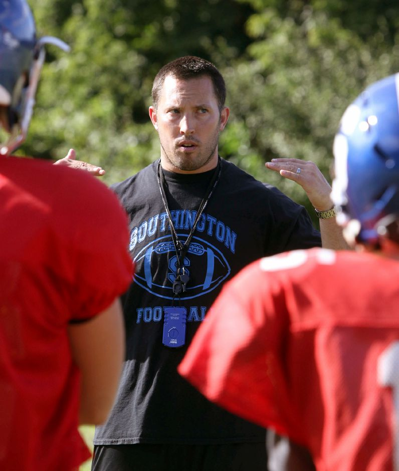 Southington football coach MIke Drury has been in the vanguard of the movement to save the 2020 season for high school football. He's been one of the more eloquent speakers at rallies. He and other coaches, players and parents will be back at it Wednesday afternoon at the State Capitol. Aaron Flaum, Record-Journal