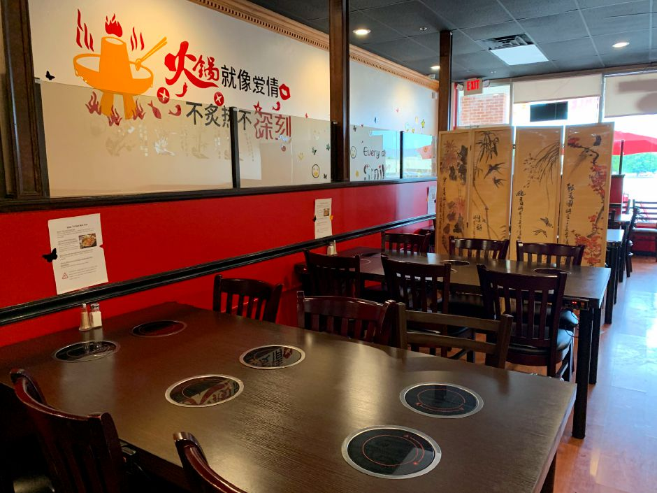 Hot Pot, 970 N. Colony Rd. in Wallingford, pictured July 31, 2019. The restaurant opened last week and offers a variety of Chinese food. | Bailey Wright, Record-Journal