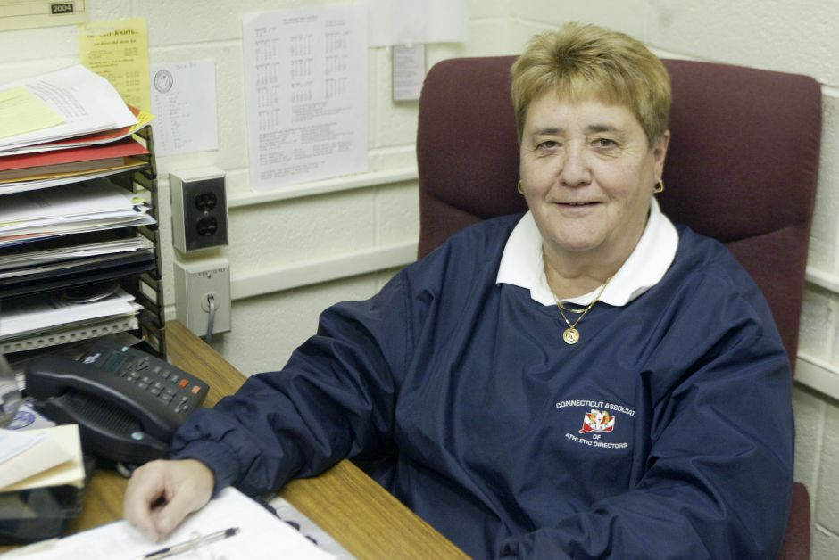 Judy Samaha, former Sheehan athletic director and coach, died Wednesday at age 75. | File photo.