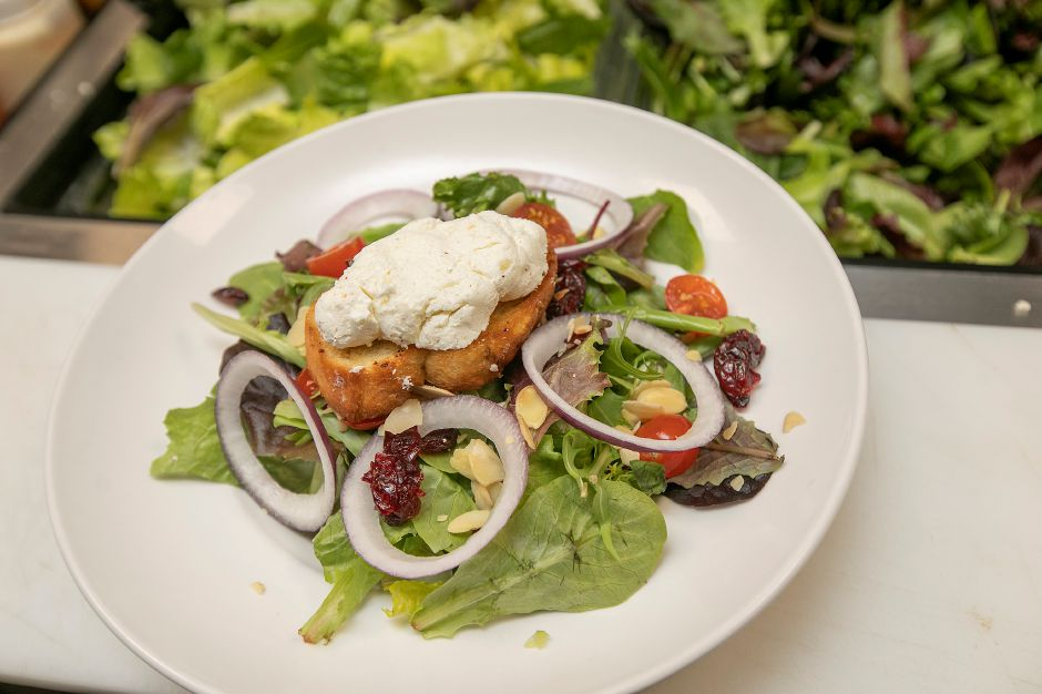 Goat cheese salad on the menu at Horseshoe Taverne, 100 New Haven Rd., Durham, Mon., Jan. 6, 2020. Dave Zajac, Record-Journal