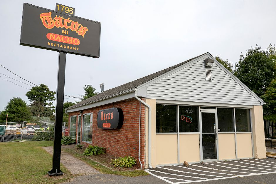 Tacos Mi Nacho, 1796 Meriden-Waterbury Tpke., Southington, Thurs., Sept. 17, 2020. Owner Luis Lemus hopes to open next month. Dave Zajac, Record-Journal