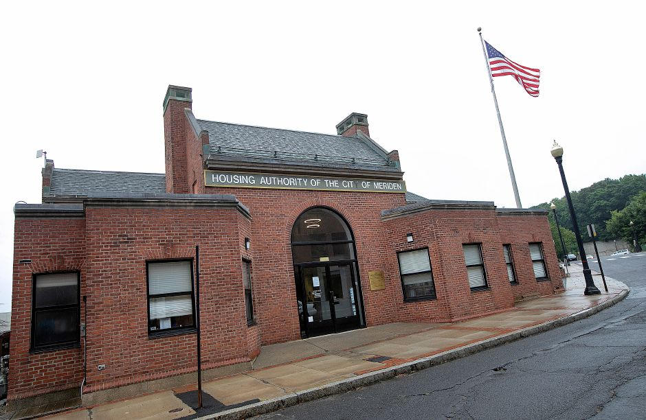 The Meriden Housing Authority, 22 Church St. Meriden.  File photo, Record-Journal