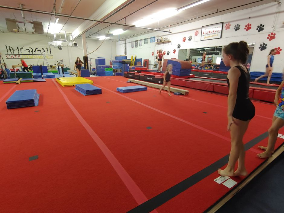CATS Gymnastics reopened in June and is currently holding classes for recreational students as well as competition team members.