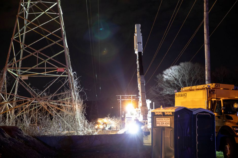 A plane crash next to Wilcox Technical High School in Meriden knocked out power for much of the city on April 11, 2019. As of that evening, the aircraft