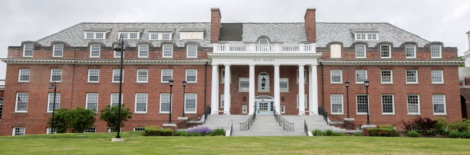 The Hill House building on the Choate Rosemary Hall campus in Wallingford, Thurs., May 28, 2020. Choate Rosemary Hall is seeking to renovate and expand the historic Hill House building, which is undergoing repairs after being damaged in a fire last year. Dave Zajac, Record-Journal