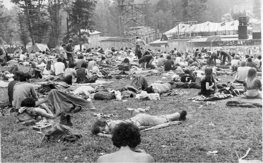A 1970 concert at Powder Ridge ski area in Middlefield was supposed to feature Fleetwood Mac, the Allman Brothers Band and Janis Joplin, among others. Although opposition from the town forced its cancellation, thousands showed up anyway.| File photos, Record-Journal