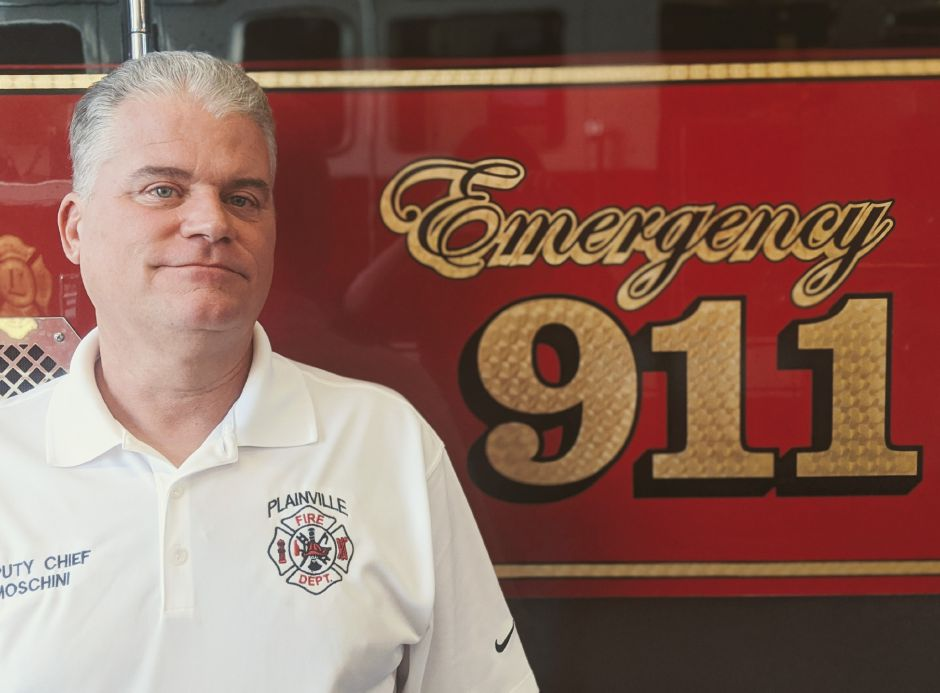 Thomas Moschini has been named Plainville's next fire chief. | Nadya Korytnikova