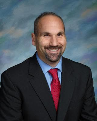 Eric Carbone, Mary G. Fritz Elementary School principal, 2019. Photo courtesy of Eric Carbone