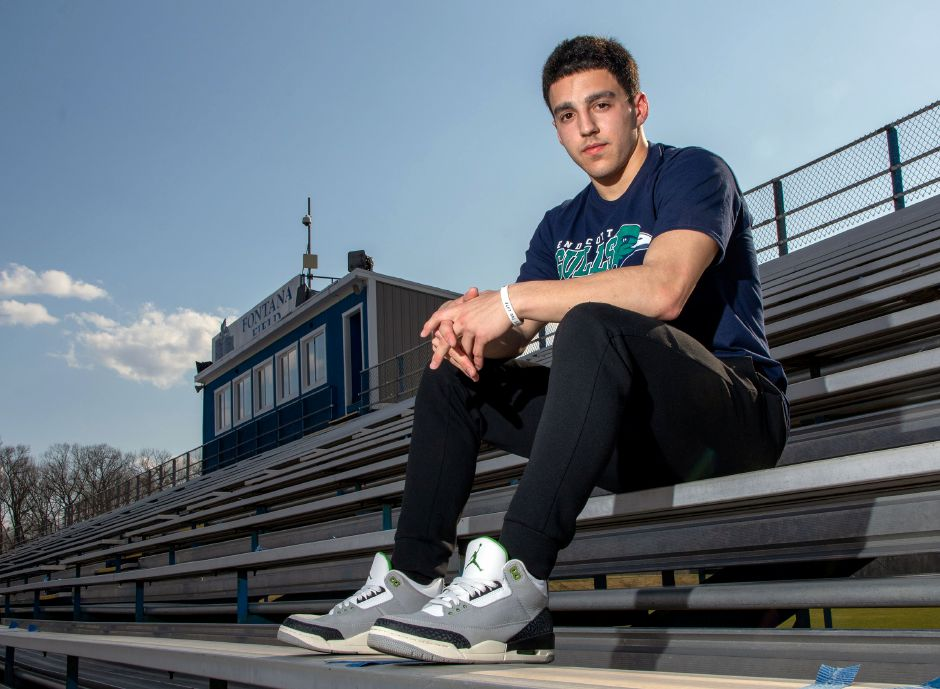 Southington senior wide receiver/safety Dylan Rodriguez is heading to Endicott College in Beverly, Mass. to play football and major in entreprenuership. Aaron Flaum, Record-Journal