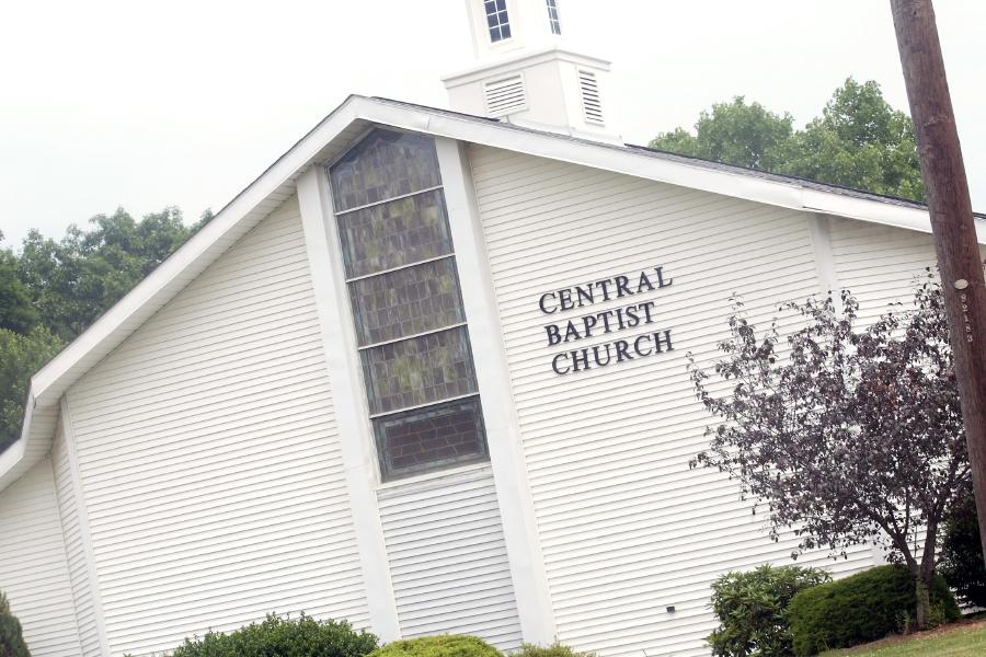 Central Baptist Church in Southington. | File photo.
