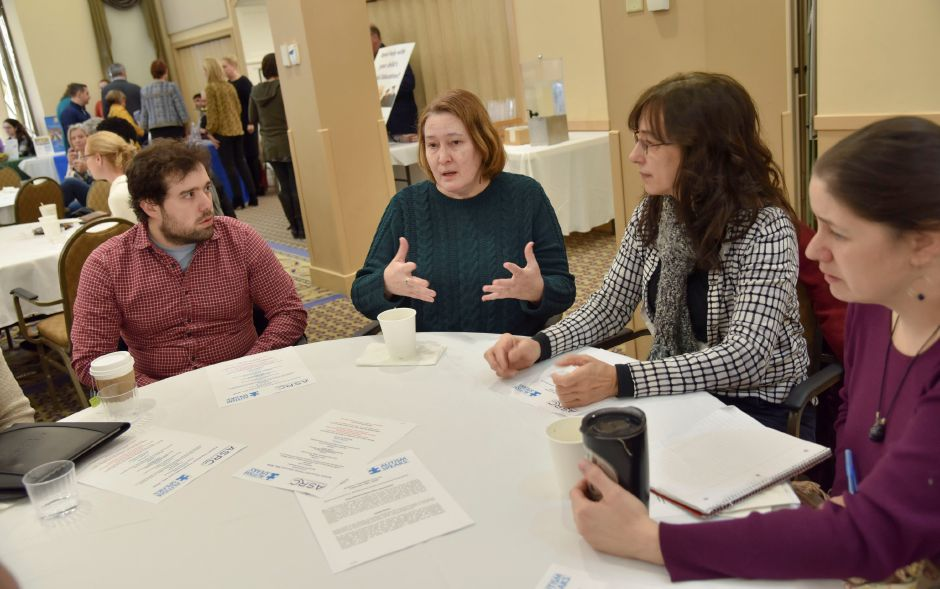 at an Autism Speaks and Autism Services & Resources Connecticut forum on autism transitioning at Masonicare at Ashlar Village in Wallingford on Saturday, Feb. 8, 2020. | Bailey Wright, Record-Journal