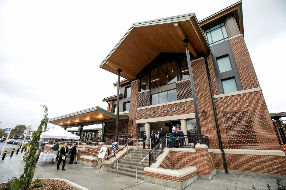 The Wallingford train station officially opens, Monday, Nov.6, 2017. | Dave Zajac, Record-Journal