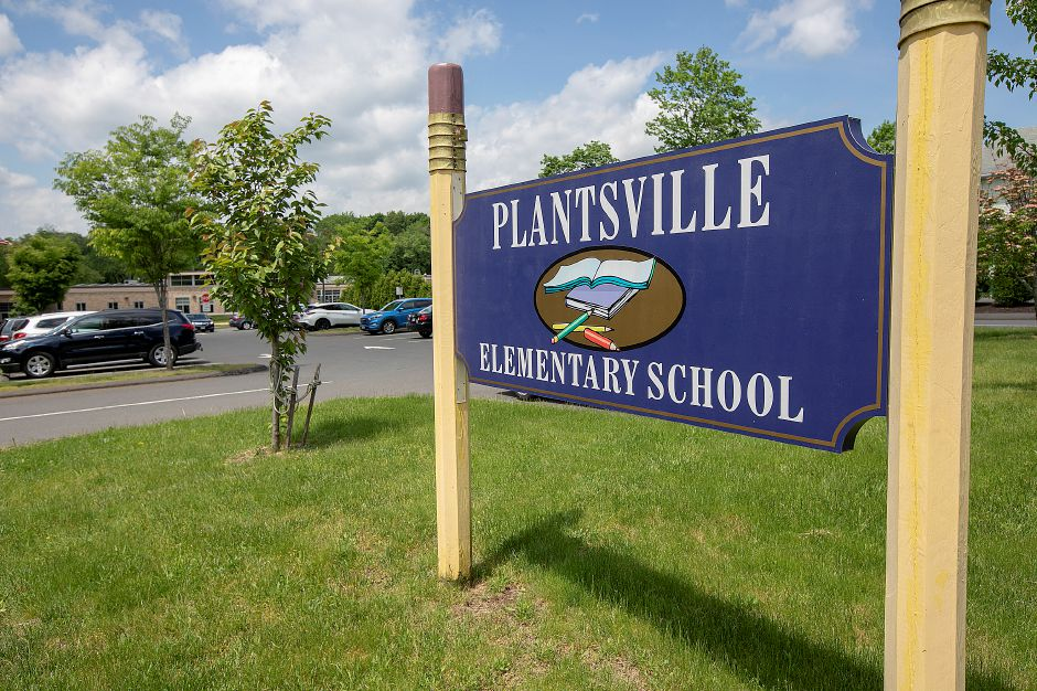 Plantsville School on Church Street in Southington, Mon., May 20, 2019. Dave Zajac, Record-Journal