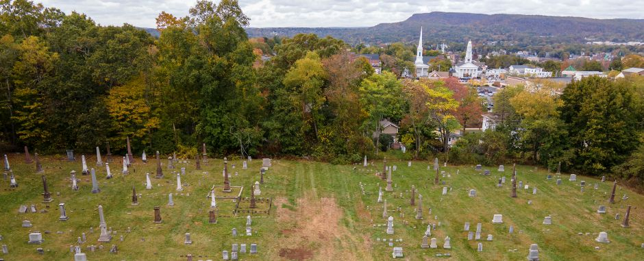 View of East Cemetery located at the end of Miles Place off East Main Street in Meriden, Mon., Oct. 12, 2020. Meriden