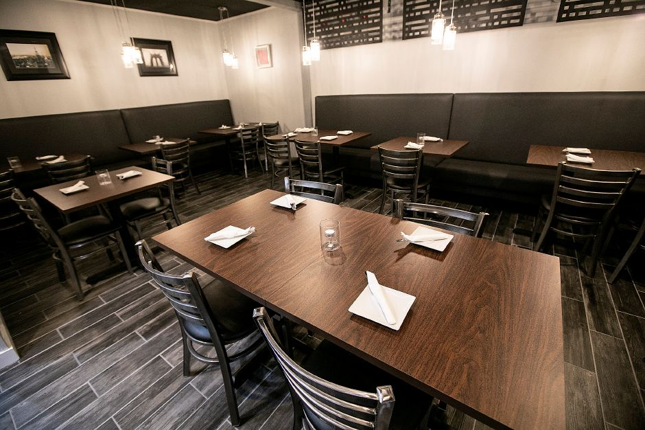 The dining room at Americansoul Kitchen Bar at 164 Scott St. in Meriden, Tues., Nov. 12, 2019. Dave Zajac, Record-Journal