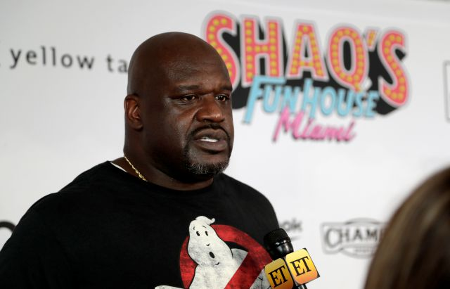 FILE - In this Jan. 31, 2020, file photo, former NBA player Shaquille O