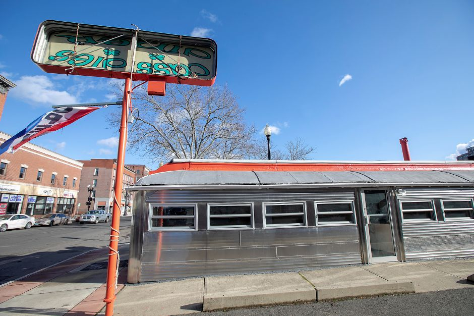 Mel's Diner, a new restaurant  on West Main Street in Meriden, is planning to open in March. Dave Zajac, Record-Journal