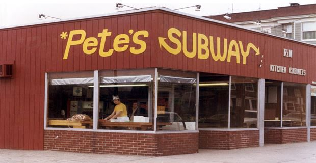 The first Subway restaurant in Bridgeport.