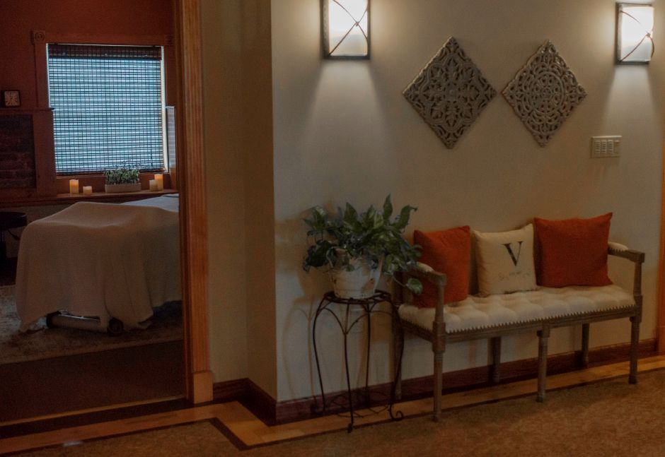 In addition to the salt room therapy, Verbena Holistic Center offers other servies such as massages, acupuncture and spa facials. - at Verbena Holistic Center in Southington on July 25, 2018 | Andrew Baxter, Special to the Record-Journal