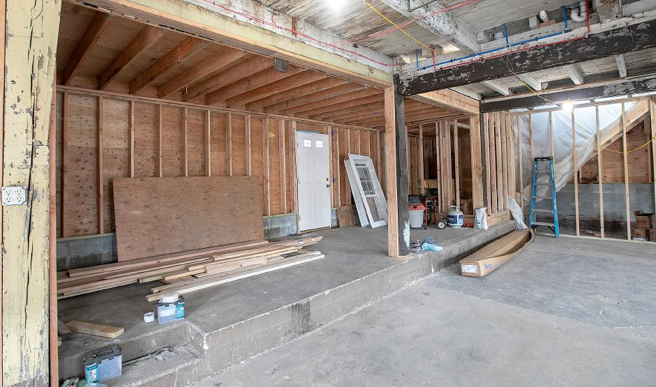 The interior of 18 South Orchard St. in Wallingford, Fri., Apr. 26, 2019. The building is undergoing extensive renovations. Dave Zajac, Record-Journal
