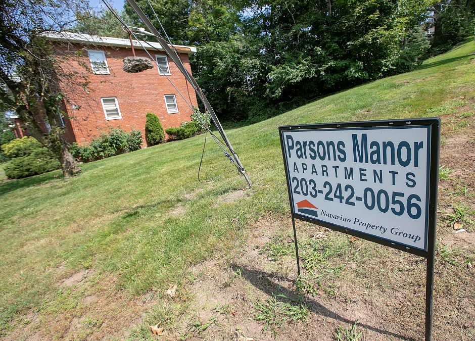 Parsons Manor apartments on Parsons Street in Wallingford, Friday, August 24, 2018. Dave Zajac, Record-Journal