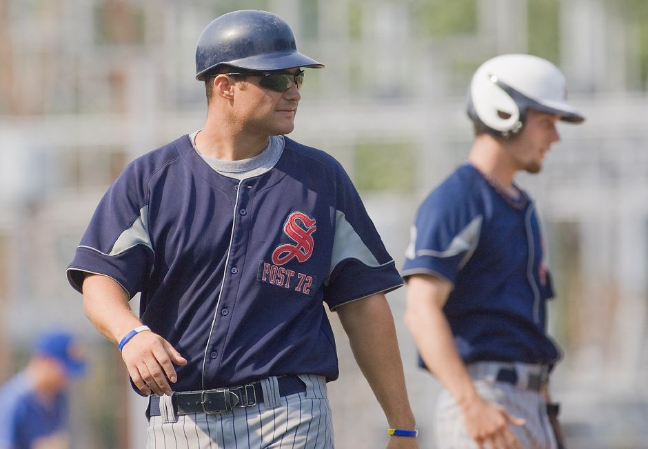 Next up for coach Marc Verderame and Southington Post 72 is a first-round date with Waterford in the North Division Super Regionals of the American Legion state baseball tournament. Game time is 1 p.m. Saturday at Rotary Field in South Windsor. | Dave Zajac / Record-Journal