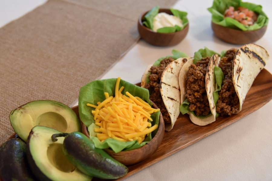 A put-together taco kit available at Perfectly Prepared, Gourmet to Go in Cheshire.